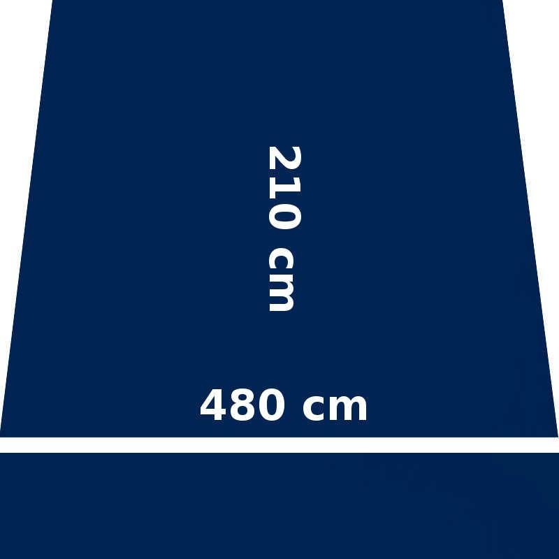 Store Lacanau Ocean 480 x 210 Bleu Marine : descriptif