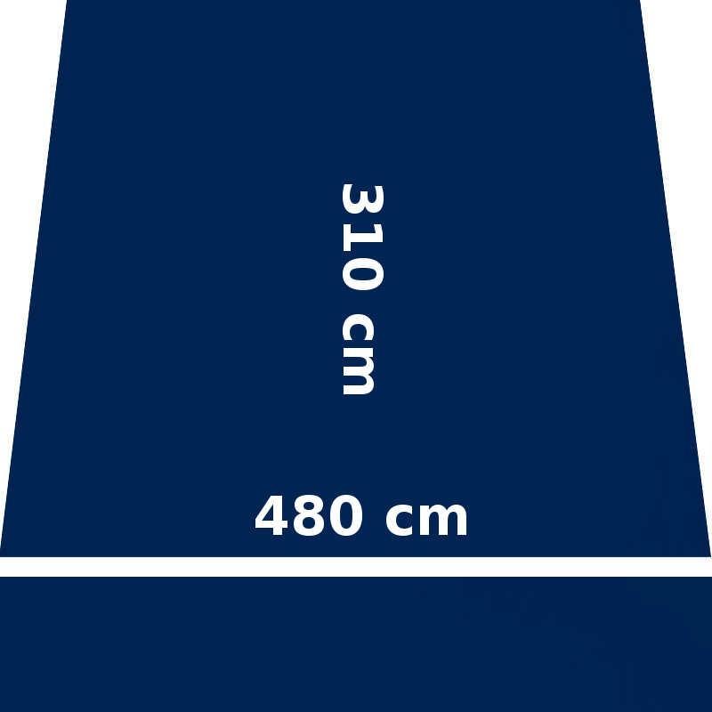 Store Lacanau Ocean 480 x 310 Bleu Marine : descriptif
