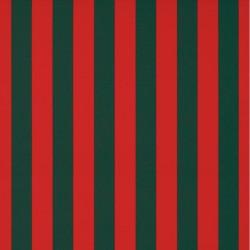 Store Lacanau 360 x 160 Rouge et vert : détail de la toile