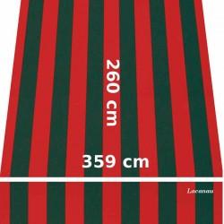 Store Lacanau 360 x 260 Rouge et vert : descriptif