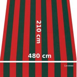 Store Lacanau 480 x 210 Rouge et vert : descriptif