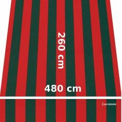 Store Lacanau 480 x 260 Rouge et vert : descriptif