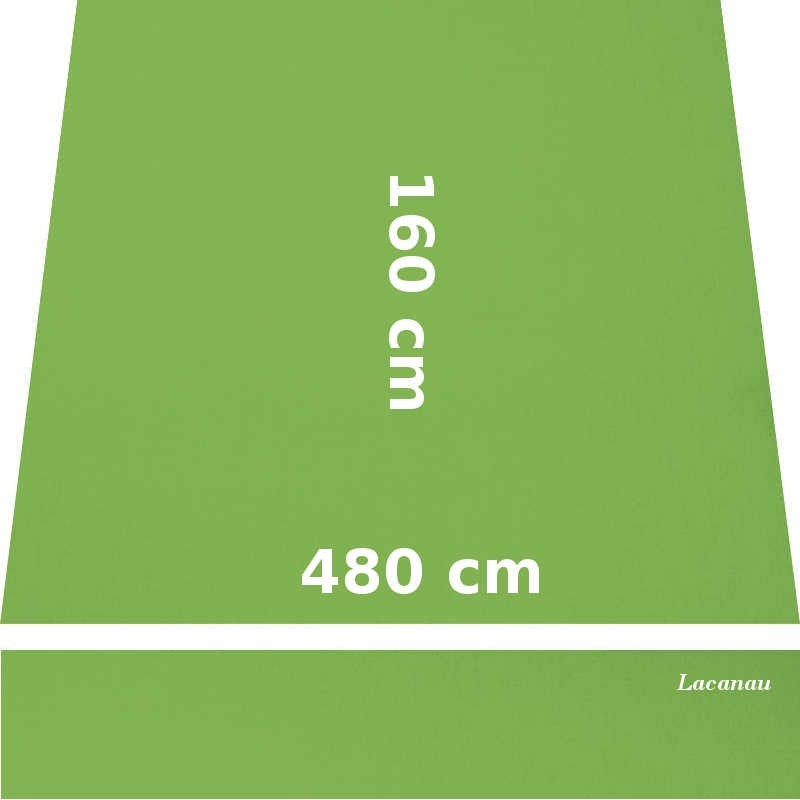Store Lacanau 480 x 160 Vert Amande : descriptif
