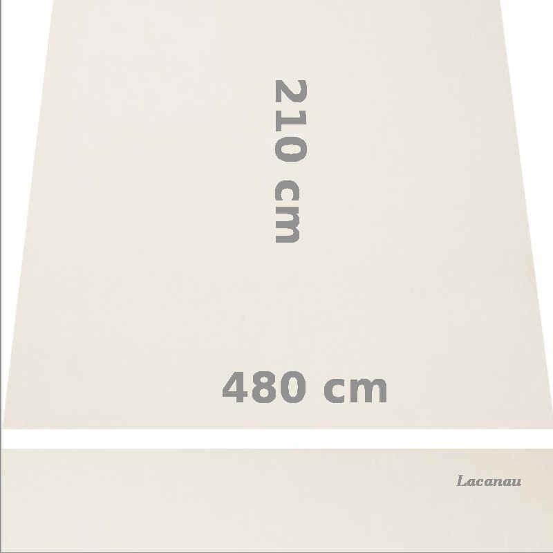 Store Lacanau 480 x 210 Blanc Ecru : descriptif