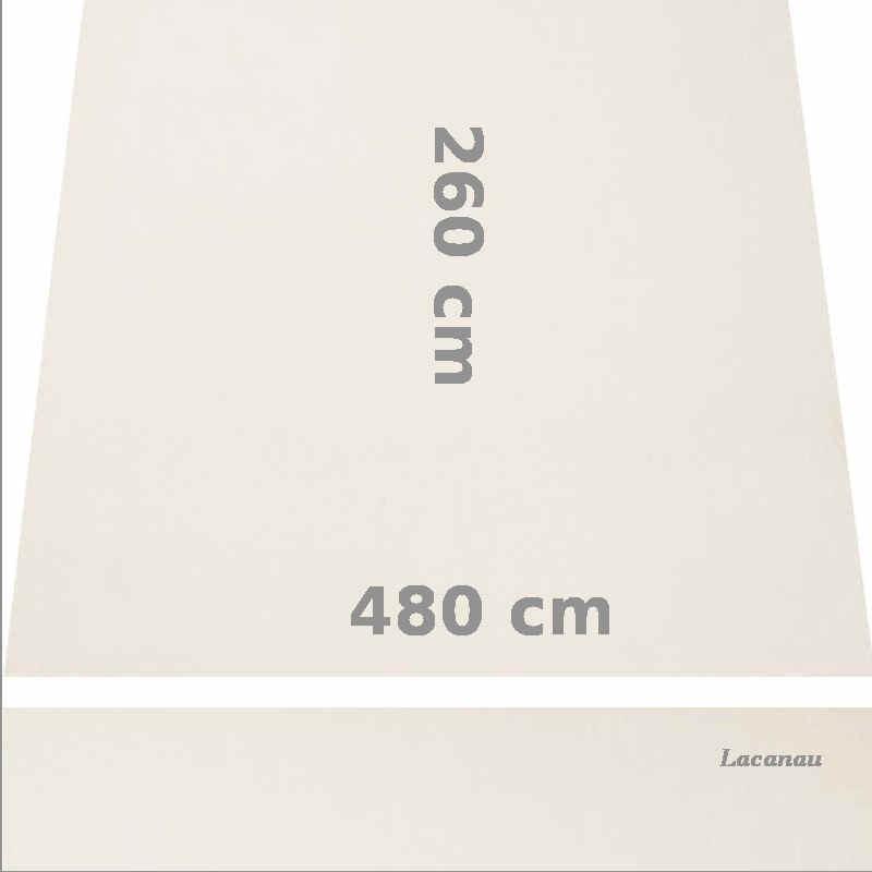 Store Lacanau 480 x 260 Blanc Ecru : descriptif