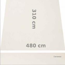 Store Lacanau 480 x 310 Blanc Ecru : descriptif