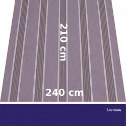 Store Lacanau 242 x 210 Amethyste et lambrequin violette