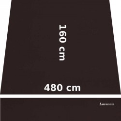 Store Lacanau 480 x 160 Chocolat : descriptif