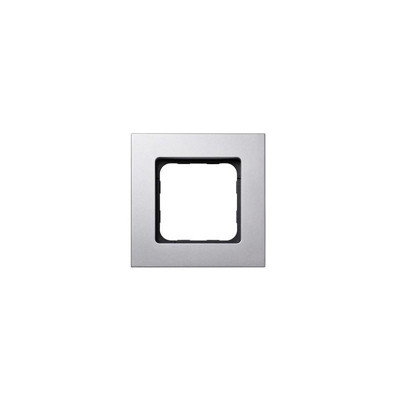 Smoove cadre design gris acier mat