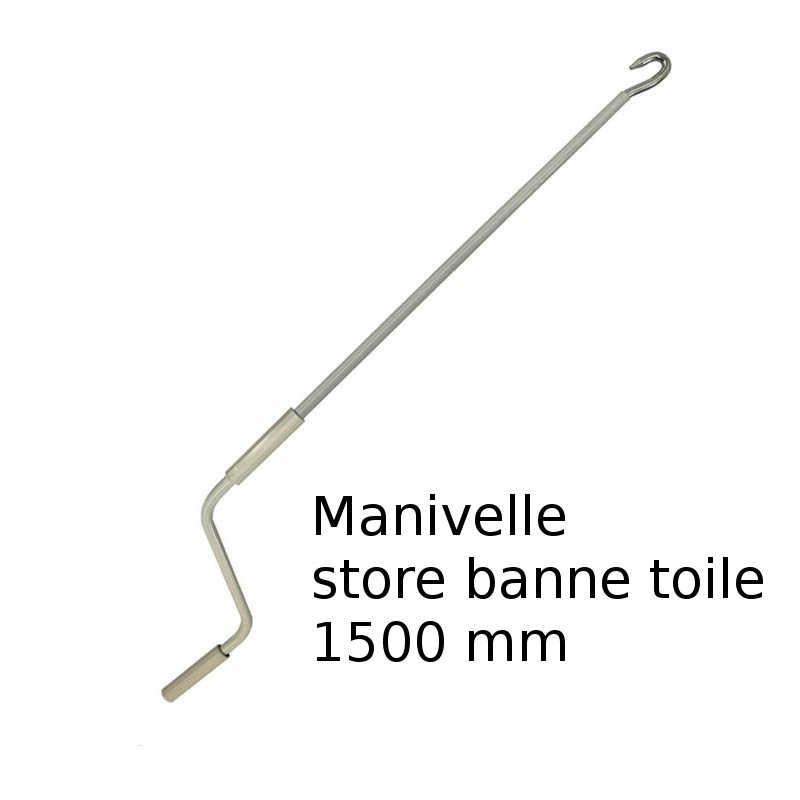 Manivelle N°2 pour store banne longueur 1500 mm