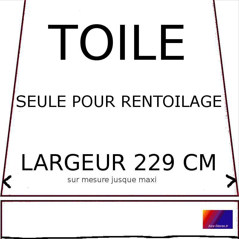 Pour store banne avec bras de 200 cm