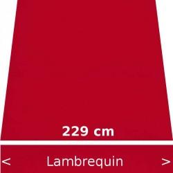 Lambrequin largeur 229 cm
