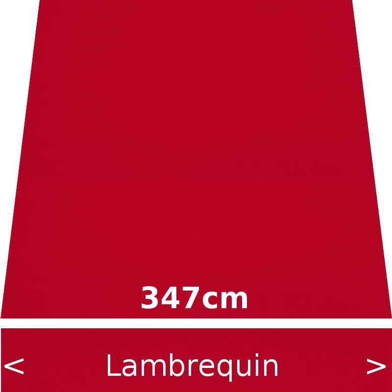 Lambrequin largeur 347 cm