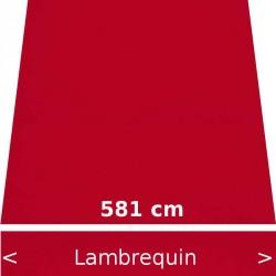 Lambrequin largeur 581 cm