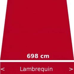Lambrequin largeur 698 cm