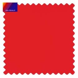 Store Lacanau 350 cm Rouge Vermillon : échantillon de toile