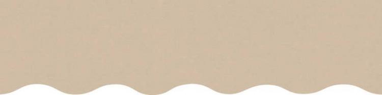store,toile et lambrequin nature beige personnalisés ( sur mesures)