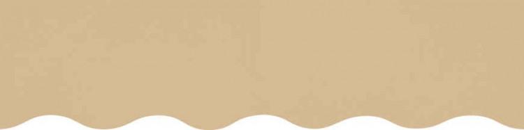 Stores avec toiles Nature Dune ( largeur en façade 400 cm )