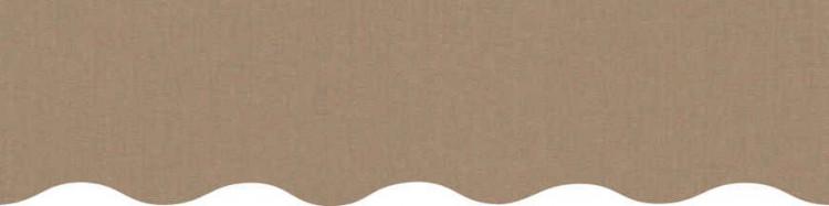 store,toile et lambrequin nature bruyère personnalisés ( sur mesures)