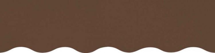 Toiles marron pour lambrequin de store à vos mesures
