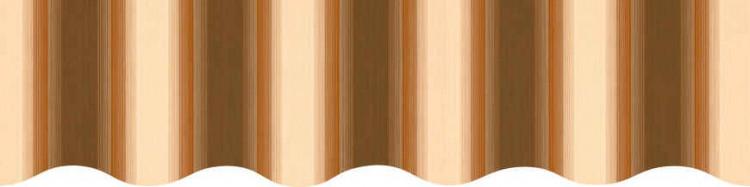 Stores avec toiles Baden Baden ( largeur en façade 400 cm )