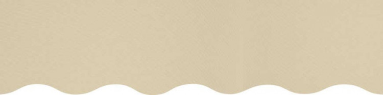Toiles pour rentoilage jaune ivoire confectionnées sur mesures