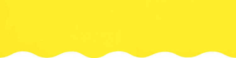 Store à vos mesures avec toile jaune citron