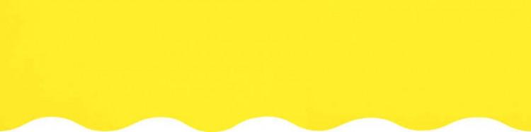 Toiles pour rentoilage jaune citron confectionnées sur mesures