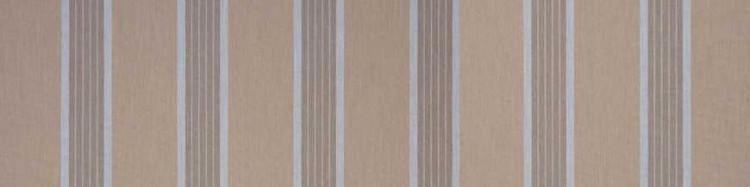 Stores avec toiles Manosque Garrigue ( largeur en façade 500 cm)