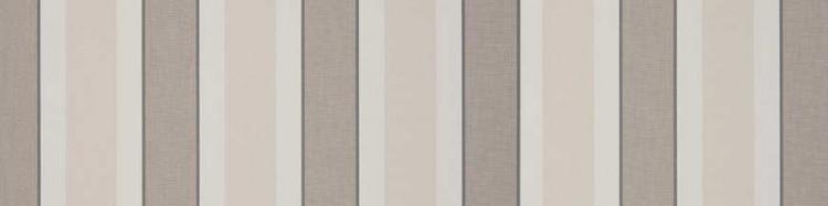 Stores avec toiles Hardelot Sable ( largeur en façade 400 cm )