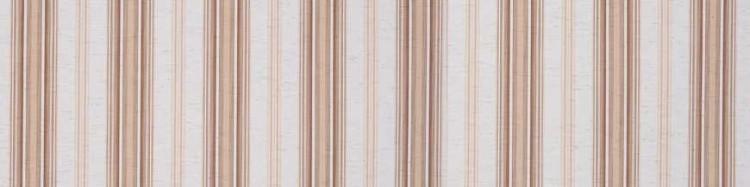 Stores avec toiles Davos Nature ( largeur en façade 400 cm )