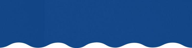 Stores toile unie couleur Bleu Océan
