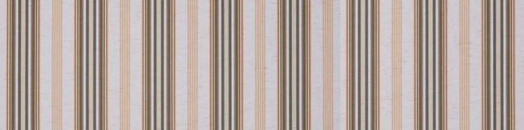 Stores avec toiles Davos Vert ( largeur en façade 550 cm )