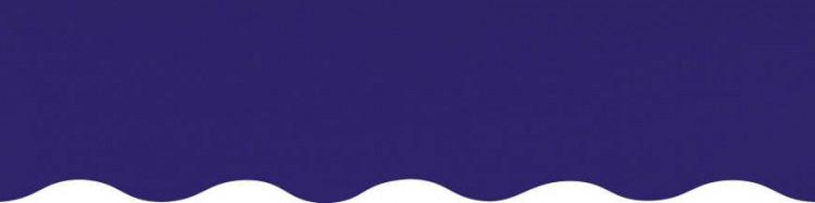 Stores toile unie couleur violet foncé