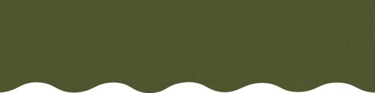 Stores toile unie couleur vert réséda