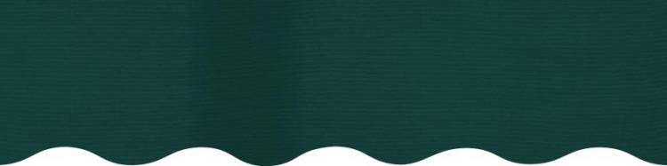 Stores toile unie couleur vert forêt