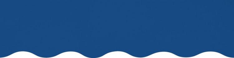 Stores toile unie couleur bleu Méditarranée