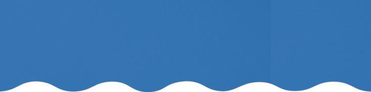 Stores toile unie couleur bleu chardon