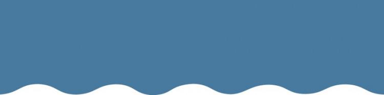 Stores toile unie couleur bleu bleuet