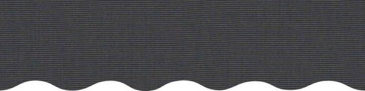 Toile couleur Gris uni Charcoal Tweed pour store de protection solaire
