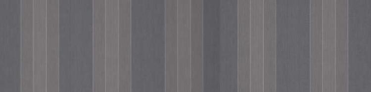 Stores et toiles à rayures fantaisie gris clair moyen et foncé