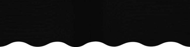 Toile pour store couleur noir uni