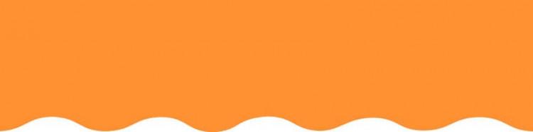 Stores toile unie couleur orange mandarine