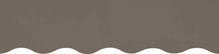 Stores toile unie couleur gris taupe