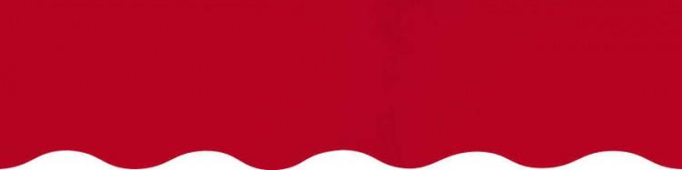 Stores toile unie couleur rouge cerise