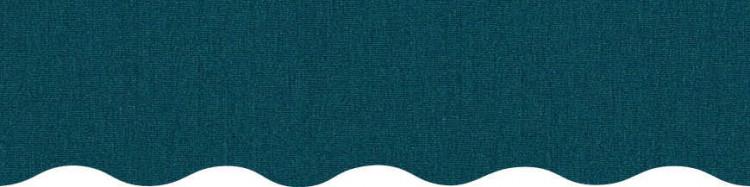 Stores toile unie couleur bleu canard