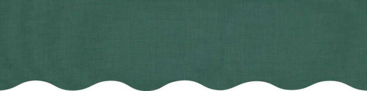 Stores toile couleur vert cyprès