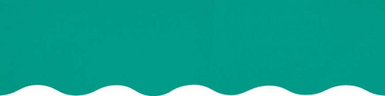 Stores toile unie couleur vert aquamarine
