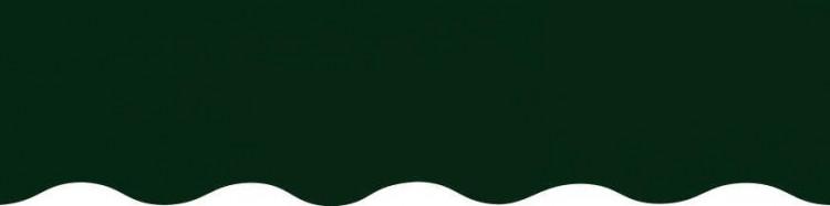 Stores toile unie couleur vert sapin