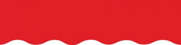Stores avec toiles Rouge Vermillon ( largeur en façade 500 cm )